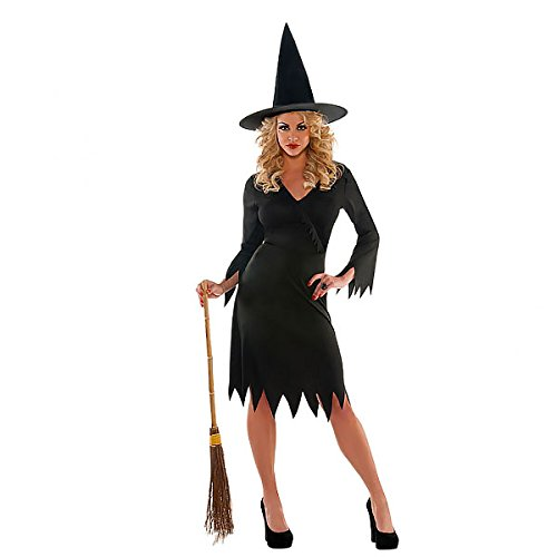 Wicked Witch Costume Uk (Christy's Adults Wicked Witch Costume - Plus Size)