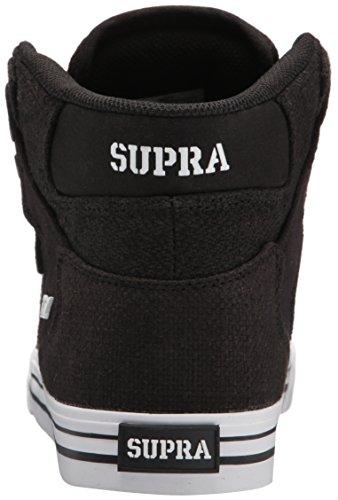 Supra Vaider S28058 Unisex - Erwachsene Sporty Sneakers Sort Sort Hvid dHhCqx