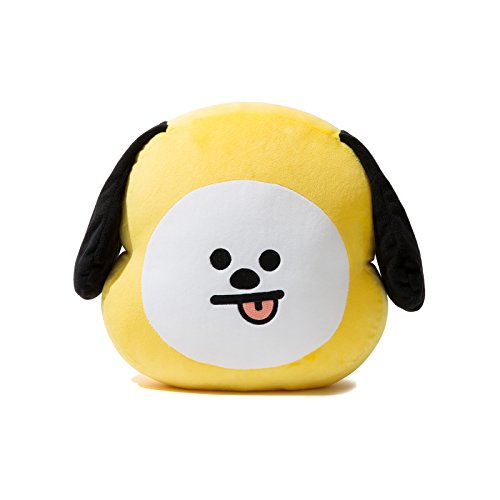 LINE FRIENDS BT21 Chimmy Cushion 11.8 inches Yellow