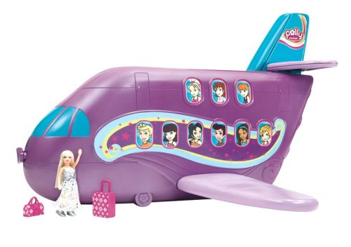 Polly Pocket Polly-Tastic Jumbo Jet Playset by Polly Pocket