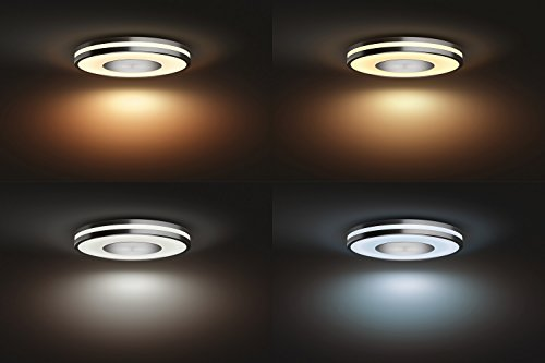 Plafoniera A Led Beign Philips Hue : Philips lighting plafoniera 3261048p7 hue being lampada da soffitto