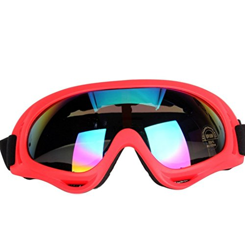 Ladies Snowboarding (Sduck Outdoor Ski Goggles, Winter Sport Off road Motor Bike Eyewear Snow Snowboarding Glasses snow/UV- Protection Multi-Color Lens eyewear Skiing Goggle,)
