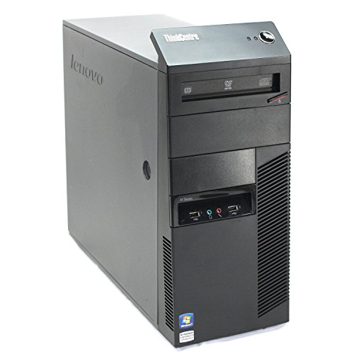Lenovo ThinkCentre M90p Mini Tower – Intel Core i7 up to 3.6GHz, 8GB RAM, 500GB HDD, Windows 10 Pro (Certified Refurbished)