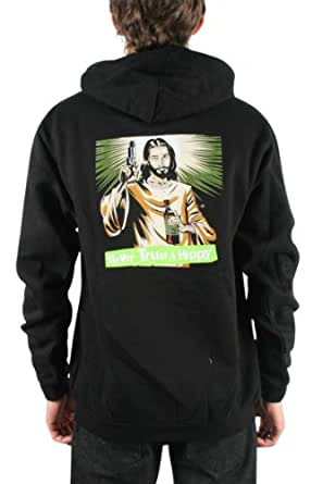 Nofx - Sudadera - Unisex - Nofx - Never Trust A Hippy Zip-Up Hoodie, Size: Small, Color: Nero