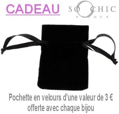 So Chic Bijoux /© Bague Chevali/ère Anneau Plaqu/é Or 750 Jaune Personnalisable Gravure offerte