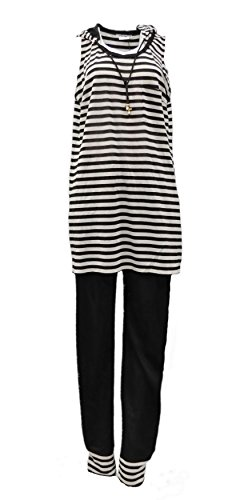marina-rinaldi-womens-2-pc-tunic-hoodie-top-pant-set-black-silver-120874-large