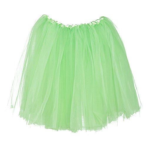 My Lello Big Girls Tutu 3-Layer Ballerina (4T-10yr) Mint -