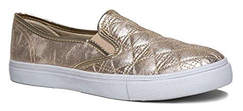 SIENNA Quilted Slip On Sneaker