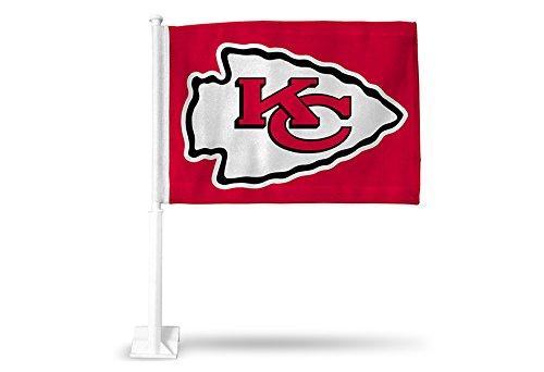 NFL Kansas City Chiefs Car Flag, Red, with