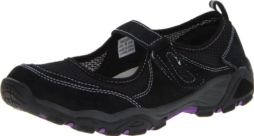 Propet Womens Blazer Slide Sandal Black/Purple NvkGMff