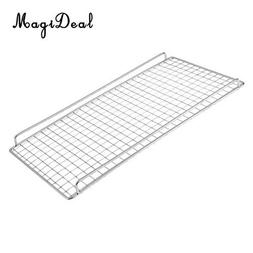 DDV-US - Stainless Steel Cooling Rack Baking Rack, Fit Various Size Cookie Sheets Pan, Heavy Duty Oven & Dishwasher ()