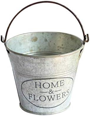 UPKOCH Mini Eimer Metall Blumentopf Eisen Blumeneimer Metalleimer Blecheimer Vintage Eimerchen Hochzeit Minieimer Sukkulenten Kaktus Töpfe für Garten Deko