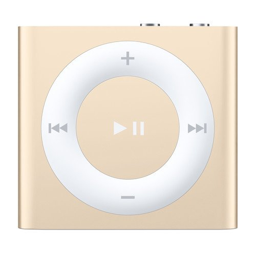 Apple iPod Shuffle 2GB Gold (4th Generation, 2015 Model) MKM92LL/A (Renewed)