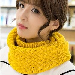 Upspirit(TM) Forever Chunky Thick Knitted Fashion Winter Eternity Infinity Loop Scarf - Eternity Loop
