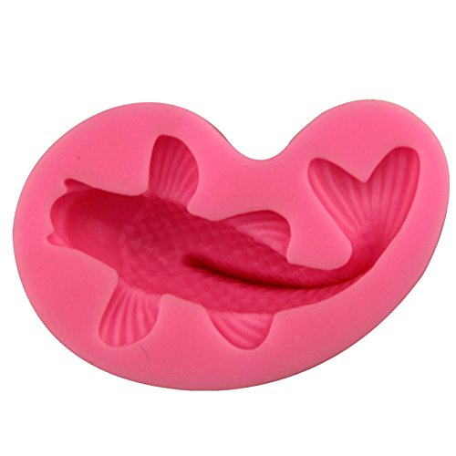 Moule en silicone en forme de poisson rouge