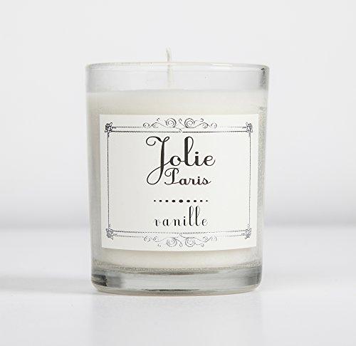Jolie Sustainable Luxury Bougie, vanille emballage peut varier