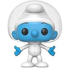 Smurfs-Funko Pop The Astro Figura de Vinilo Hefty Smurf, Multicolor 20123