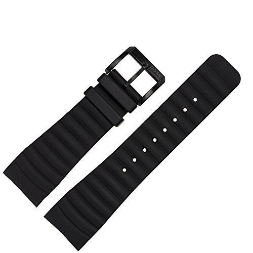 Hugo Boss Reloj de pulsera 24 mm Silicona Negro – Reloj banda 659302336