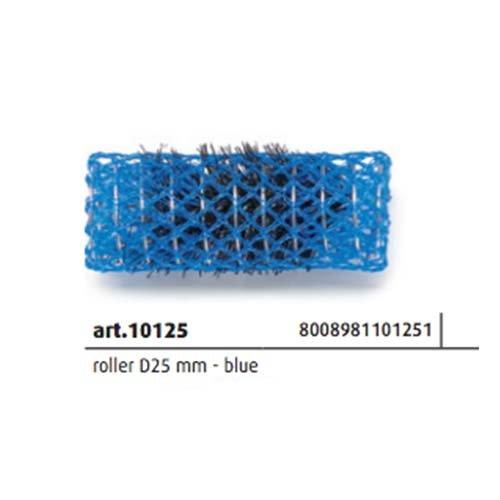 Bigoudis Brosse en Nylon ADN Evolution D25mm Bleu 12pièces Dna Evolution