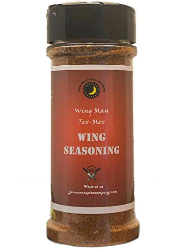 PREMIUM | Wing Man TEX-MEX Wing Dry Rub Dust Seasoning | Crafted in Small Batches with Farm Fresh SPICES for Premium Flavor and Zest ()