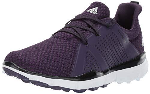 adidas Womens Climacool CAGE Golf Shoe Legend Purple/core Black/Silver Metallic 8 M US