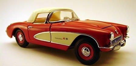 Franklin Mint 1957 Corvette in Venetian Red by The