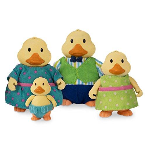 Lil Duck (Li'l Woodzeez Woodzeez-Quickquack Duck Family-5 Pcs (4 Characters, 1 Book) 5 (4 1))