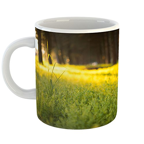 Westlake Art - Coffee Cup Mug - Yellow Green - Home Office Birthday Present Gift - 11oz (f30 0db)