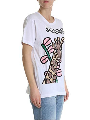 T Cografd110594800 Bianco r shirt a Donna Cotone P h o s TXqAgZw8