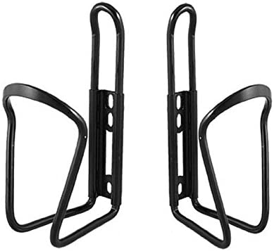 WZYuan Pack of 2 Black Aluminium Water Bottle Rack Holder Bracket for Bike Bicycle
