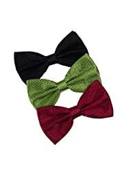 DBE0221 Suppliers For Wedding Bow Ties Microfiber Excellent Shopstyle 3 Pack Bow Ties Set by Dan Smith
