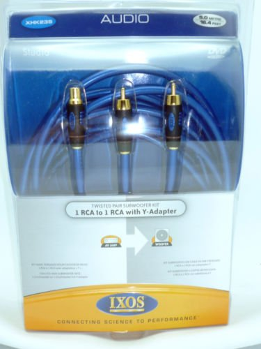 r Cable 5 meters 16 feet (Ixos Audio Cable)
