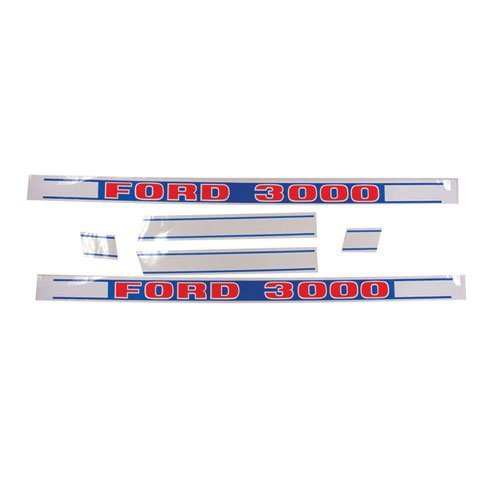 All States Ag Parts Decal Set 3000 Ford 3000 NPN16605H