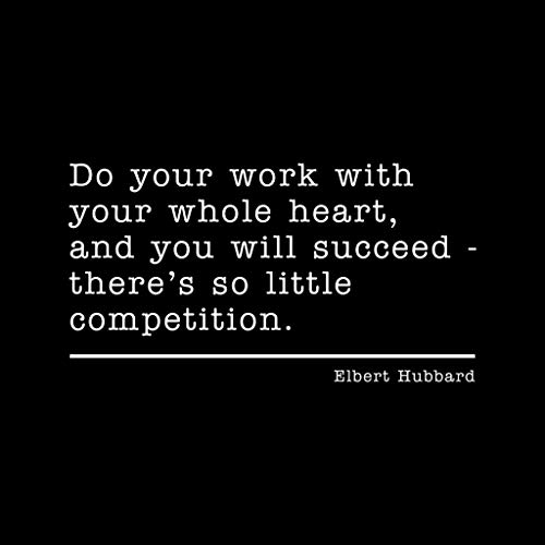 Pour Femme Hubbard Noir Do Sweat Work Elbert Quote Your shirt 5EXqn1wvS