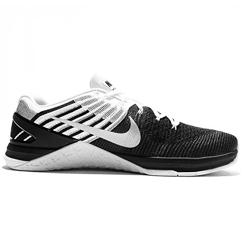 Mens Training NIKE Xds Shoes White Silver Metcon Cross metallic Flyknit Black tqPgqw