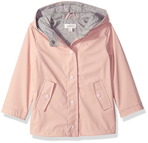 (Gymboree Girls' Big Long Sleeve Woven Hodded Jacket, Pink Blossom 2T)
