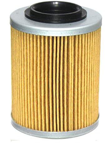 Namvo 6mm r/étro Moto Modification pi/èces m/étal Huile Filtre /à Carburant Amovible en Verre Transparent Filtre /à Carburant Moto Accessoires Noir