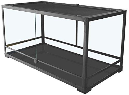 41tE9ar6jbL - Carolina Custom Cages Terrarium, Large Deep 36Lx24Dx18H; Easy Assembly