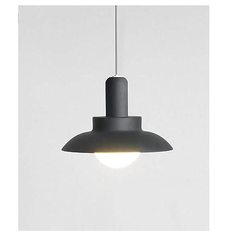 Lámpara colgante moderna minimalista de LED de cristal con ...