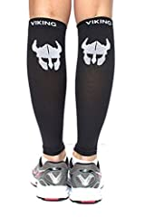 Viking Guards Calf Compression Sleeves will have you performing your best in no time. Compression provides support to your muscles, promotes circulation which aids in recovery and stamina. BENEFITS OF VIKING GUARDS CALF COMPRESSION SLEEVES: I...