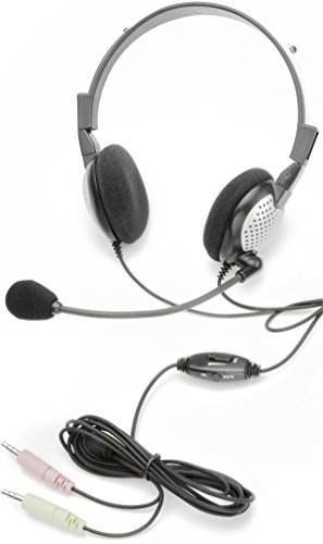 Andrea Headphones (Noise Canceling Stereo Headset with Volu)