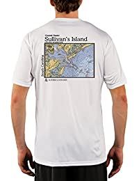 "<span class=""a-offscreen"">[Sponsored]</span>Coastal Classics Sullivan's Island Chart Men's UPF 50+ UV/Sun Protection Short Sleeve T-Shirt"