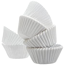 "Standard Size White Cupcake Paper/Baking Cup/Cup Liners, Pack of 500 1 <p>Best quality white cupcake liners 500 pcs per pack, Fit to all standard size cupcake pans. Dimensions wall height 1-5/16"", base diameter 1-7/8"". Approx Diameter when pressed flat 4.5"" . Mr Miracle best quality, sturdy standard size Cupcake Paper Liners Great for cupcakes, desserts, hot and cold appetizers, and candies White paper baking cups 500 Liners. *Please note - As these Liners are packed into bundles very tightly lightly separating them will result in occasional sticking with multiple Liners. * Approx. 1-7/8'' x 1-5/16 = 4.5'' Packed by Mr. Miracle</p>"