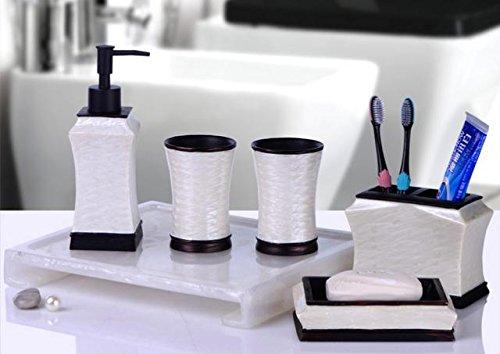 HJKLL-High-grade sanitary tray set of six European-style minimalist bathroom by HJKLL