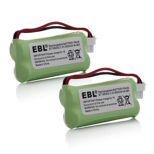 EBL BT183342 BT283342 BT166342 BT266342 BT162342 BT262342 Battery Compatible with VTech CS6114 CS6419 CS6719 AT&T EL52300 CL80112 VTech CS6719-2 Cordless Handsets 2 Pack