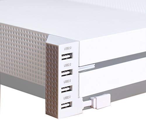 CXZA Xboxの一つSコンソール用ゲームアクセサリーはXboxの一つSのUSBアダプタのUSBポート4ポートUSBハブを拡張します