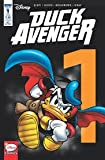 Duck Avengers #1 Sub Cover Variant Disney's Donald Duck Super Hero Comic Book