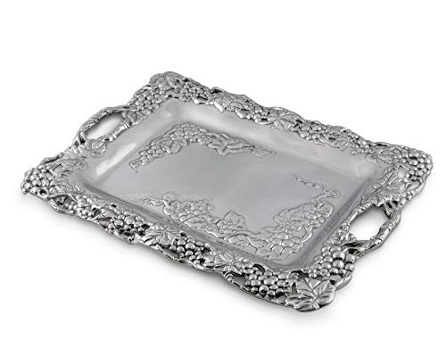 Arthur Court Grape Clutch Tray
