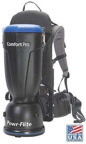 Powr-Flite 10qt. Standard Style Comfort Pro Backpack Vacuum 10quart