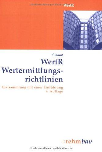 wertermittlungsrichtlinien 2006